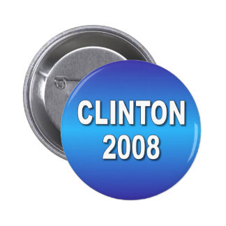 Clinton 2008 pin