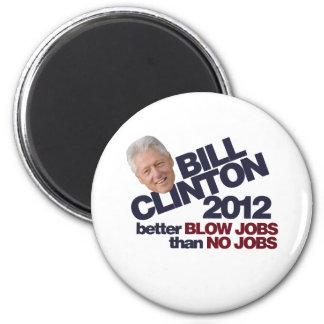 Clinton 2012 magnet