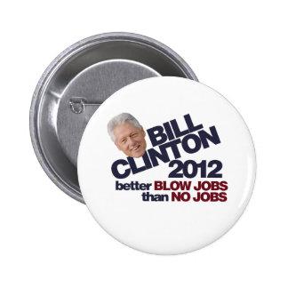 Clinton 2012 pins
