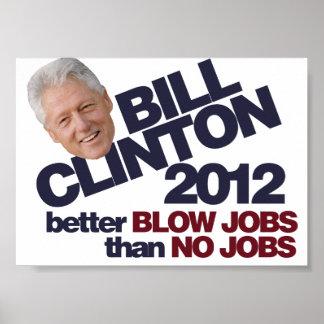 Clinton 2012 poster