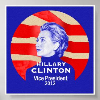 Clinton 2012 VP Poster