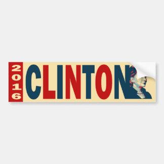 Clinton 2016 pegatina de parachoque