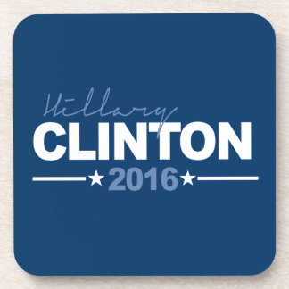 CLINTON 2016 CAMPAIGN SIGN DRINK COASTERS