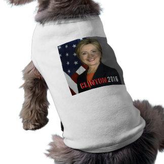 Clinton 2016 Dog T-Shirt