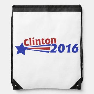 Clinton 2016 drawstring backpack