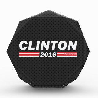 Clinton 2016 (Hillary Clinton) Acrylic Award