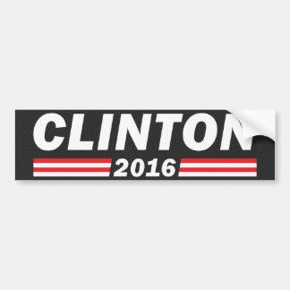 Clinton 2016 (Hillary Clinton) Car Bumper Sticker