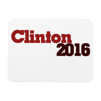 Clinton 2016 imanes rectangulares