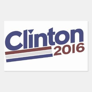 Clinton 2016 rectangular altavoces
