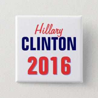 Clinton 2016 pinback button