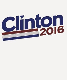 Clinton 2016 playera
