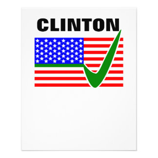 Clinton 2016 President Flyer