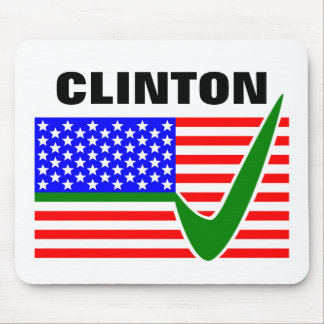 Clinton 2016 President Mouse Pad