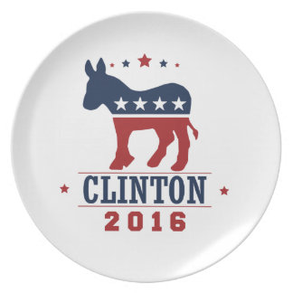 CLINTON 2016 ROCKWELL PLATE