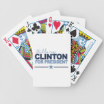 CLINTON 2016 SIGNERICA -.png Bicycle Card Deck