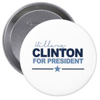 CLINTON 2016 SIGNERICA - .PNG PINS