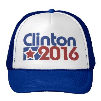 Clinton 2016 star politics trucker hat