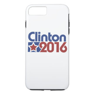 Clinton 2016 star politics iPhone 7 plus case