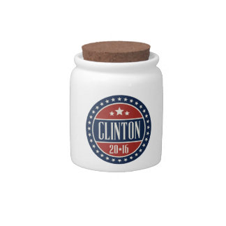 CLINTON 2016 STARCIRCLE -.png Candy Dish
