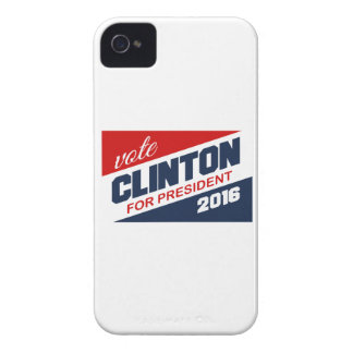 CLINTON 2016 SUPPORTER iPhone 4 COVERS