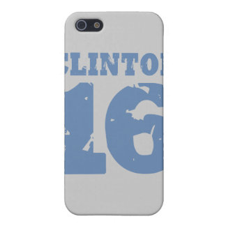 CLINTON 2016 UNIFORM DISTRESSED -.png iPhone 5/5S Cover