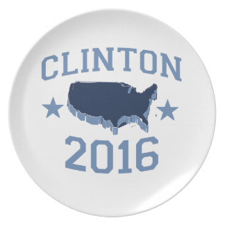 CLINTON 2016 UNITER PARTY PLATE