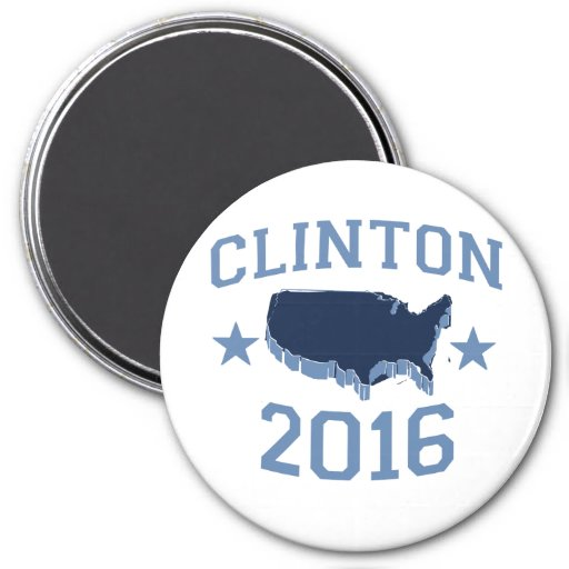 CLINTON 2016 UNITER.png 3 Inch Round Magnet