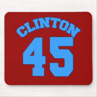 CLINTON 45 - Hillary for President Mouse Pad
