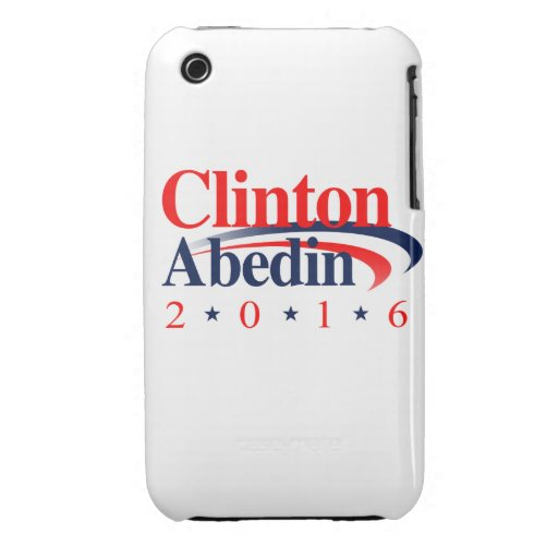 CLINTON ABEDIN 2016 Case-Mate iPhone 3 FUNDAS