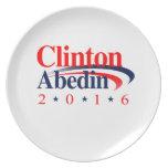 CLINTON ABEDIN 2016 PLATO PARA FIESTA
