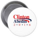 CLINTON ABEDIN 2016.png Pin Redondo 10 Cm