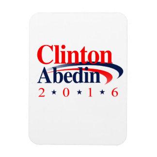 CLINTON ABEDIN 2016.png Rectangular Photo Magnet