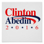 CLINTON ABEDIN 2016 POSTERS