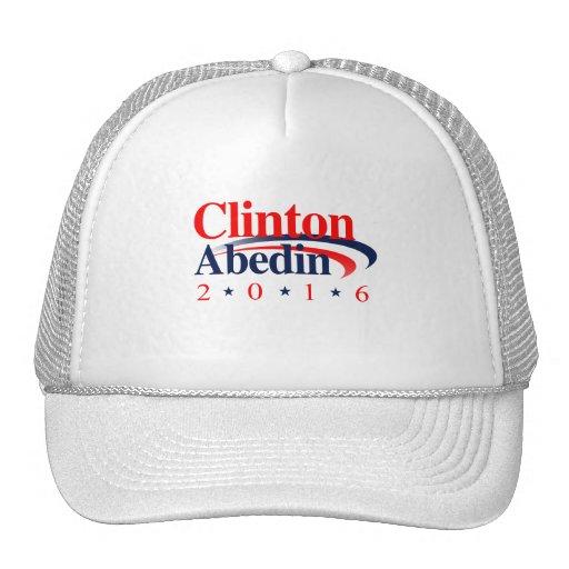 CLINTON ABEDIN 2016 TRUCKER HAT