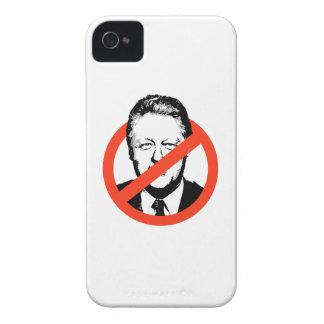 CLINTON ANTI - BILL CLINTON ANTI iPhone 4 Case-Mate FUNDA
