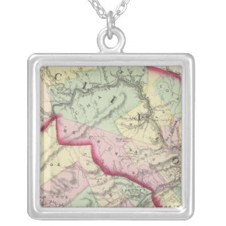 Clinton, Centre counties Silver Plated Necklace
