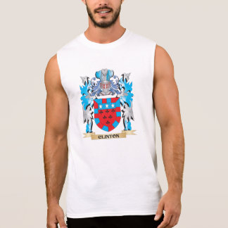 Clinton Coat of Arms - Family Crest Sleeveless T-shirt