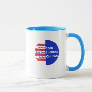 Clinton EN taza de las ciudades