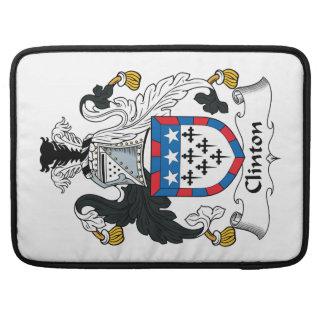 Clinton Family Crest MacBook Pro Sleeve