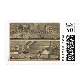 Clinton Fire Brick Works Anderson's Landing Postage