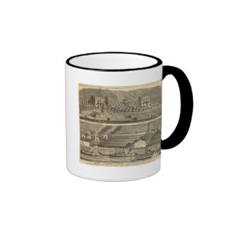 Clinton Fire Brick Works Anderson's Landing Ringer Coffee Mug