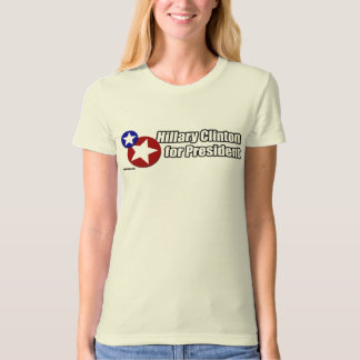 Clinton for President Two Stars Union Shirt