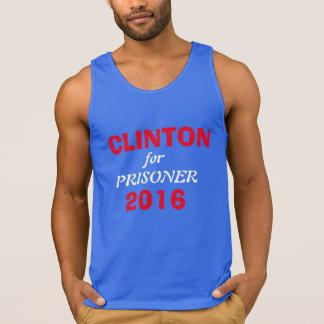 CLINTON for Prisoner 2016 Tank Top