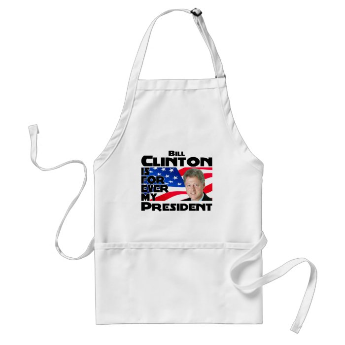 Clinton Forever Adult Apron