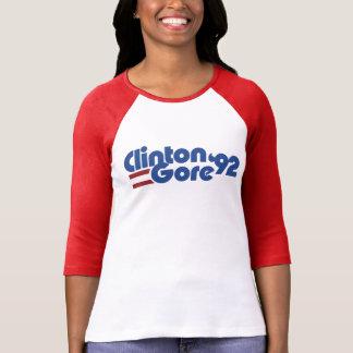 Clinton Gore 1992 Playera