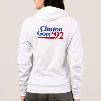 Clinton Gore 1992 retro politics Hoodie