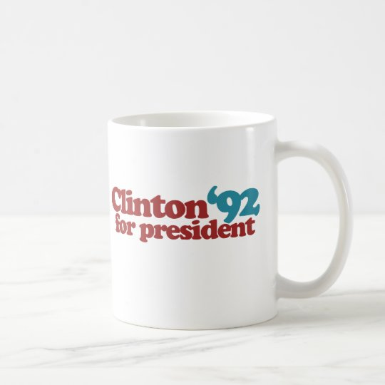 Clinton Gore 92 Coffee Mug