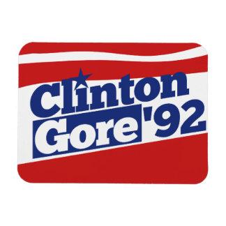 Clinton Gore 92 Magnets