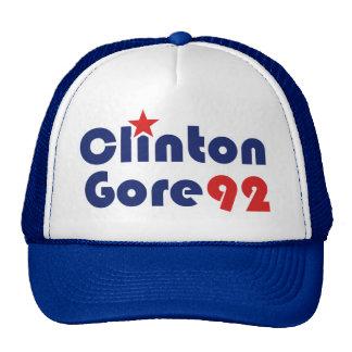 Clinton Gore 92 Retro Democrat Mesh Hats