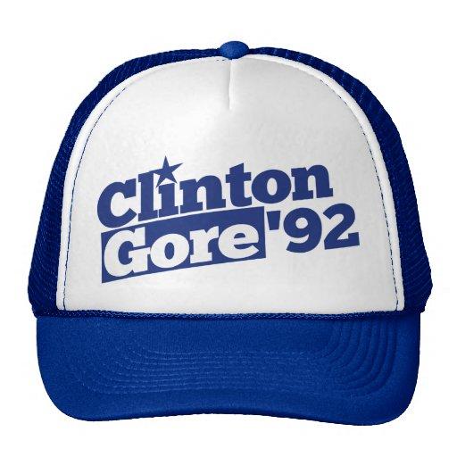 Clinton Gore 92 Trucker Hat